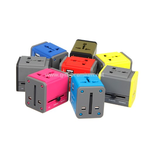 2 USB Travel Adapter