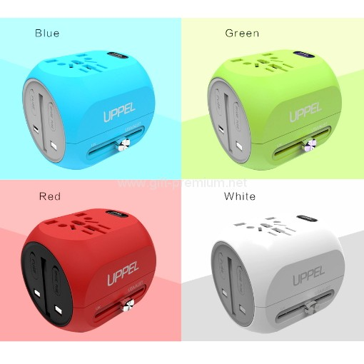 Type C + 1 USB Travel Adapter (